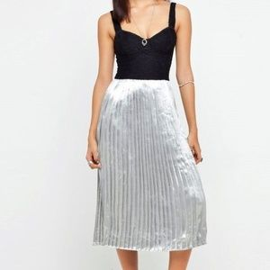 MOTEL ROCKS Urban Outfitters ANGEL DRESS Blk Lace